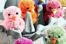 Spring-themed craft activities