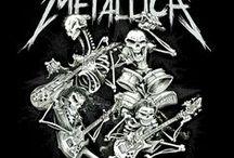 Metalica / Tato nástěnka se týká hudební skupiny která se jmenuje Metallica.