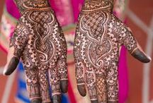 Bridal Mehndi ❤ / bridal mehndi/henna applied to Indian brides... oh the delicate designs!