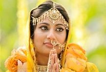 Beautiful South Asian Brides ❤ / From real weddings, these Indian, Pakistani, and South Asian brides are stunning in their wedding saris and lenghas.