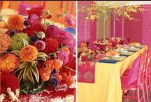 Colors - Warm {Reds, Oranges, Yellows} / by The Big Fat Indian Wedding®