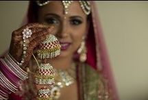 Kalires ❤ / Kalirees are dangling, beautiful sparkling jewelry worn by Indian brides.