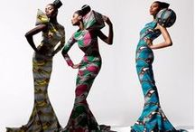 African Modernism in Fashion / A Tribute to the Motherland. / by Salon of The Dames ®