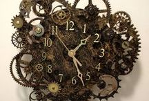 Clocks! / Wall clocks, table clocks, I love them all.