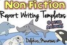 Non-Fiction Report Writing / Report Writing for Kindergarten and First Graders