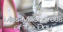 MISS MILLIONAIRESS OF THE DAY™ / MISS MILLIONAIRESS OF THE DAY~THE CELEBRATION OF WOMEN AROUND THE WORLD. WOMEN WHO REPRESENT ALL RACES, ETHNICITIES, NATIONALITIES, AND FABULOUS PINTEREST BOARDS! NOMINATE YOUR FAVORITE PINNERS~