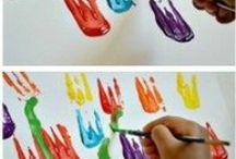 Crea met kinderen / Makkelijke knutsels voor kinderen