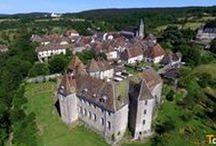 La Haute-Saône vue du ciel / Prises de vues aériennes par drone. Des réalisations T-Drone.