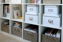 get organized / by Elizabeth Hughes