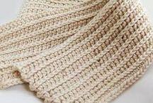 Tunisian crochet / afghan stitch