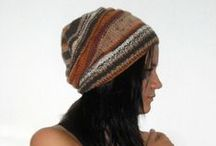 Women's hand knitted hat