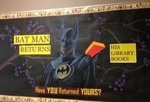 Bulletin Boards & Book Displays
