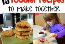 Kids Cooking / Fun, simple ideas to get your kids really cooking in the kitchen.