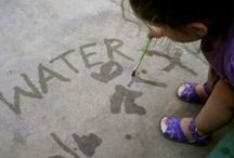 Water Play / New ideas to make water play even more fun this summer