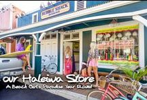 Haleiwa Store / Bubble Shack's Haleiwa Store is a collection of Hawaiian Bath + Body for all the ocean loving mermaids out there!