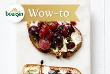 It's Better with Boursin / Whether it's an appetizer, salad, sandwich, dinner or even dessert, any recipe is better with Boursin cheese.