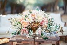 Floral Arrangements / Stunning inspiration for floral arrangements at your event.  / by The Celebration Society