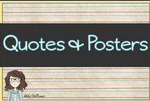Quotes, Posters and Sayings