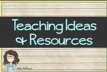 Teaching Ideas & Resources / Fun and functional stuff for school / by Addie Williams