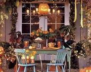 Fall Decor / Fall decor, autumn decor, home decor, home interior, interior design, pumpkins, fall leaves, autumn