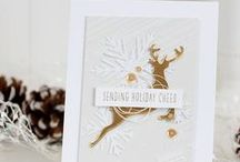 Wplus9 Holiday Inspiration / Christmas and Holiday ideas and inspiration for cards and crafts using Wplus9 stamps and supplies.