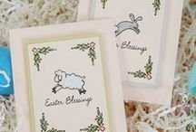 Wplus9 Easter/Spring Inspiration / Ideas for cards and crafts using Wplus9 stamps and supplies for for Spring and Easter.
