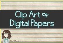 Clip Art and Digital Papers