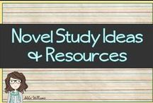 Novel Studies / Novel study ideas and resources for Middle-High School