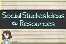 Social Studies Ideas & Resources / Educational products (free and priced) that relate to Social Studies / History