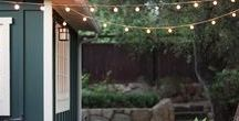 Outdoor Living / Outdoor living, DIY outdoor decor, outdoor projects, DIY, porch design, curb appeal