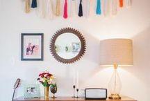Wreaths + Swags + Garland / Wreath decor, home decor, interior design, wall decor, mantle decor, swags, wall hangings