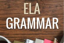 ELA Grammar / Pins and products to teach grammar in schools! Please keep it to 3 pins per day (don't flood the board), NO repeat pins, and please stick to grammar topics (not spelling or vocabulary!) You may NOT invite other pinners to the board, or you may both be removed.  This board is not currently accepting new pinners, BUT you can email me to be included the next time this board opens: tptsara (at) gmail (dot) com.