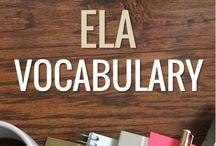 ELA Language, Vocab, Etymology / .