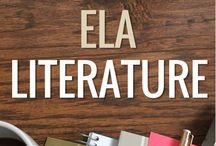 ELA Literature / Pins to teach middle or high school novels/novellas. (See the short story board for others.)