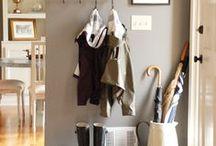 Entryway Design / Interior Design, Home Decor, Entryway, Eclectic, Rustic, Farmhouse