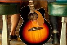 Fender Acoustic Guitars / PURE FENDER INNOVATION. NATURALLY.  West Coast spirit, unplugged and unrivaled.