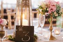 Escort Cards, Table Numbers and Menus / Inspiration and creative ideas for your event's escort cards, table numbers and menus.