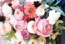 Bridal Bouquets / A collection of gorgeous bouquets to hold on your big day.