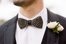 What He Wore / Inspiration for men's wedding attire and details.