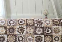 Crochet grannysquares (free pattern) / For the love of different grannysquares