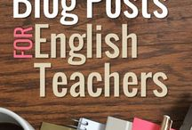 ELA Blog Posts / Links to great blog posts by secondary English teachers! These can be about ELA specifically or teaching in general.  (Please only 1 per day, no TpT products/freebies, and NO REPEAT pins. Feel free to pin links to your blog or to other blogs/articles.) To join, follow the board and email me: tptsara@gmail.com