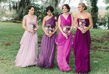Bridesmaid Style / Inspiration for your bridal party.  / by The Celebration Society