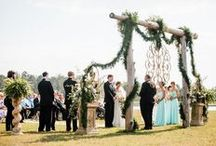 Wedding Ceremony / Wedding Ceremony layouts and ideas from Real Weddings and Wedding Inspiration photo shoots.