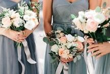 Bridesmaid Bouquets / Fabulous arrangements for your girls to carry as they stand by your side on the big day.