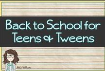 Back to School for Teens and Tweens
