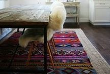 Rugs + Floors / Rugs, floors, interior design, textiles, home decor, floor design, eclectic, rustic style