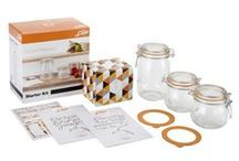 "Le Parfait - DIY Kits / Use Le Parfait jars and terrines to make your own gourmet items and garner ""THE PERFECT"" results!!  Enjoy!!"