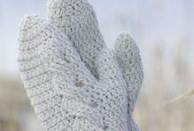 Crochet Socks & Mittens