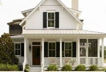 Home Exteriors and Outdoors / Design and Decor Ideas for the outside of our house.