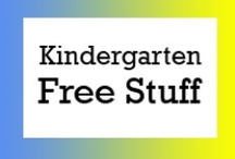 Kindergarten Free Stuff / Free teaching ideas, worksheets and fun classroom activities for kindergarten students. / by Brian Crawford